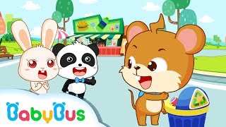 Don 39 T Leave About The Garbage Animation For Babies Babybus