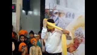 Turban Training Full Video  * Dastaar Academy * Pagri Centre In Bathinda , Bullet Stunts In Punjab