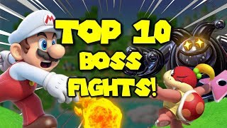 Top 10 Boss Battles in Super Mario 3D World