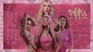 LA NIÑA DE LA ESCUELA x MÍA - Lola Indigo, TINI, Belinda, Danna Paola (Mashup) [MV]