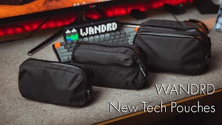 New Wandrd Tech Pouches | Tech Review Tuesday