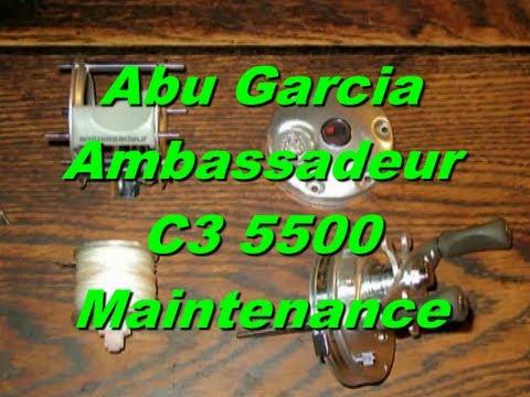 11955 or 975050  Abu Garcia Ambassadeur Drive Shaft /& Ratchet Bin 582
