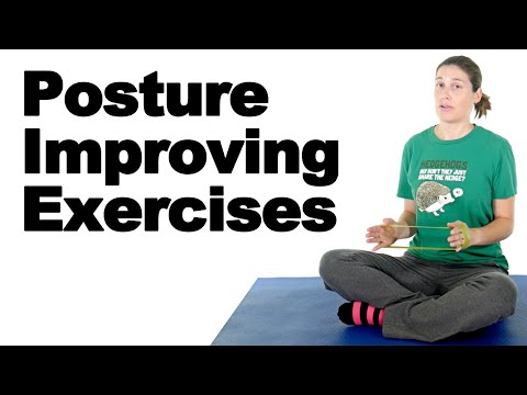 Improve Posture with 5 Easy Exercises Ask Doctor Jo