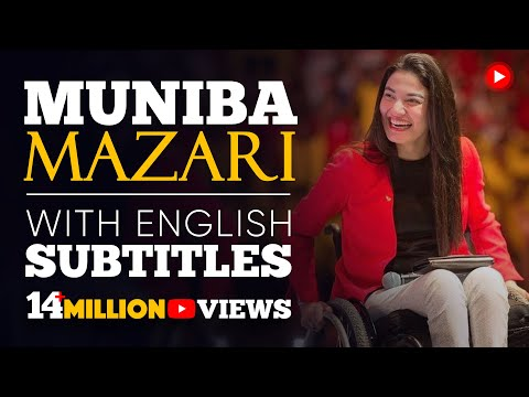 LEARN ENGLISH | MUNIBA MAZARI – We all are Perfectly Imperfect (English Subtitles)
