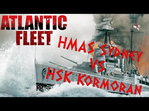 HMAS Sydney Vs. HSK Kormoran - Kurz Und Blutig - Atlantic Fleet Gameplay