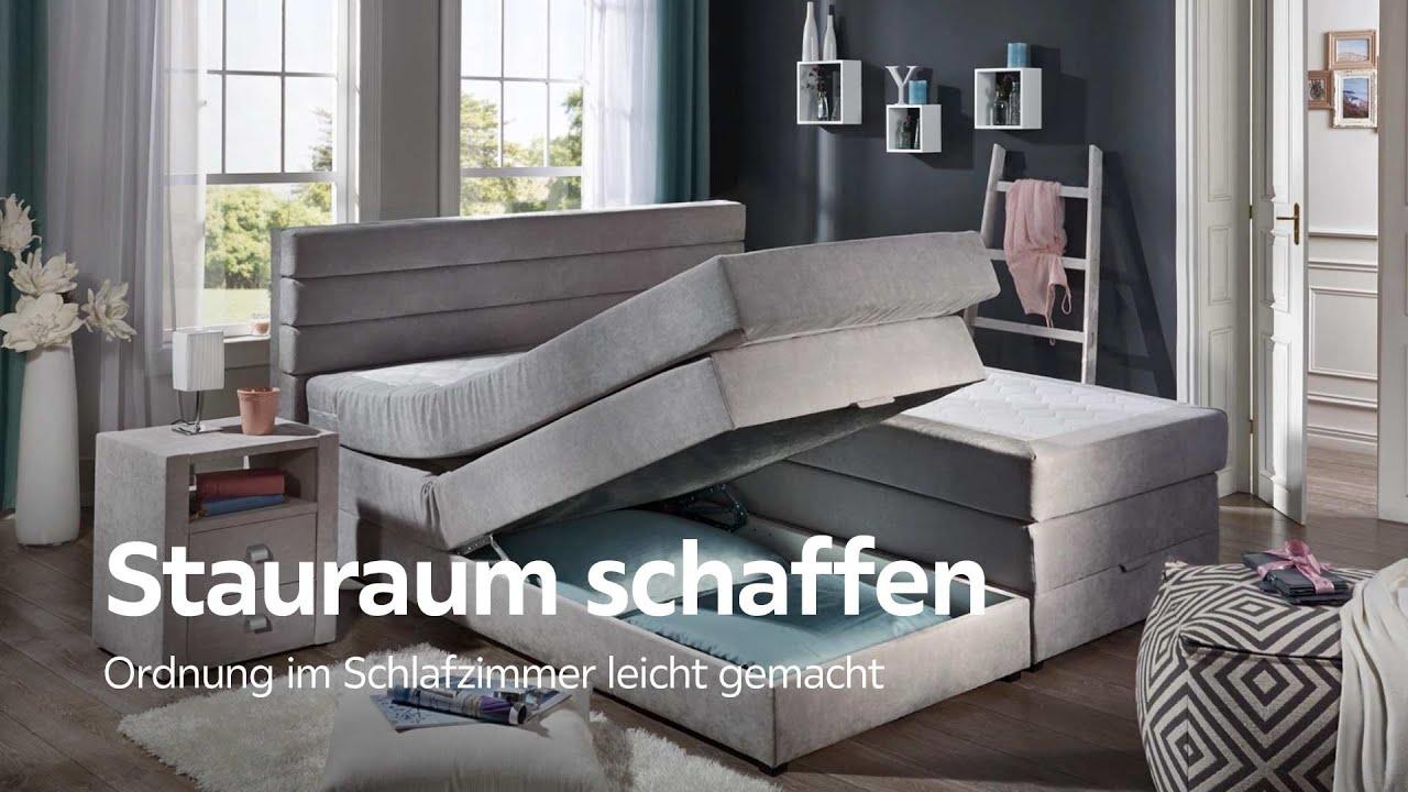 Charmant Stauraumtipps: So Sorgen Sie Für Ordnung Im Schlafzimmer   XXXLutz  Schlafzimmer Beratung