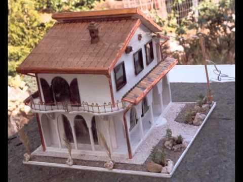 Riproduzioni in miniatura di ville youtube - Come costruire una casa in miniatura ...