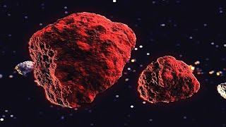 소행성대에서 발견된 거대한 붉은 천체. 이들은 원래 이…
