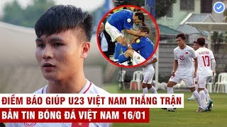 VN Sports 16/1 | Quang Hải quyết tâm cao thắng Triều Tiên, U23 VN lo 2 đối thủ Tây Á bắt tay loại VN