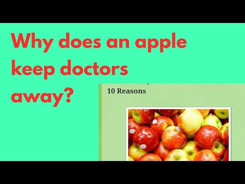 Health Tips:Why do apples keep doctors away?(English)|Benefits of Apples