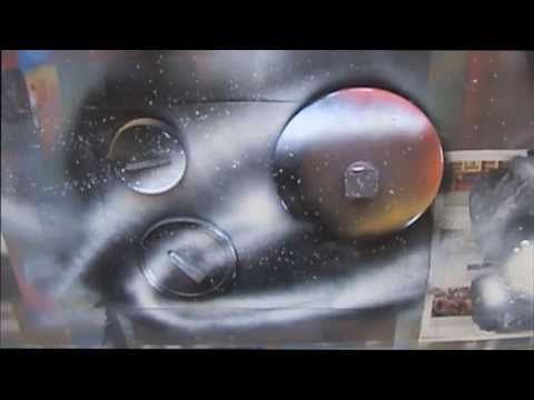 Spray Paint Art LIVE Tutorial: Back to Basics