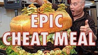 EPIC CHEAT MEAL - Der grösste Burger der Schweiz in Rekordzeit!!!