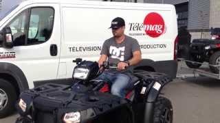 Ams - Action moteur sport - Vtt - Mini Cut: Polaris Sportsman 1000 2015