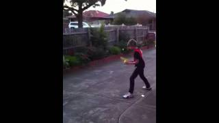 Fail tennis game