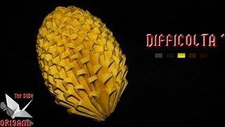 [ORIGAMI 3D ITA] Uovo Di Pasqua || Origami Di Pasqua/Per Decorazioni