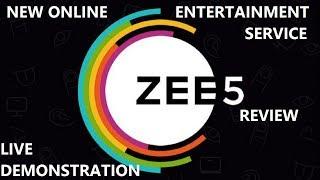 Zee5, Zee Entertainment's one stop digital entertainment Service Review