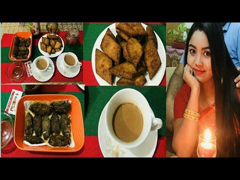 মুচমুচে, কুড়মুড়ে অত্যন্ত মজাদার বিকেলের নাস্তা/Egg Pitha/Fish Fry/Evening Vlog/Naznin Keya