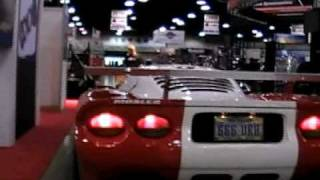 SEMA 2008: Delivering the Mosler to the Nelson Racing Engines booth