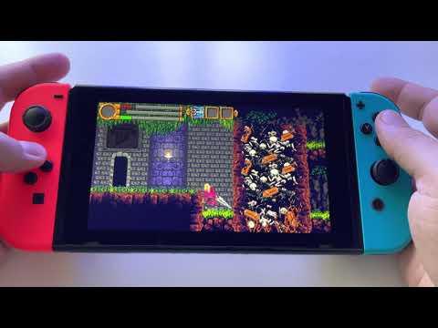 The Skylia Prophecy   Nintendo Switch V2 handheld gameplay  