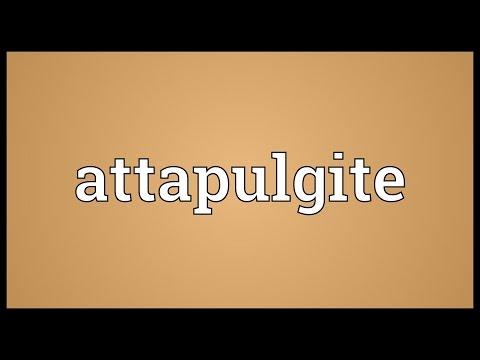 Header of attapulgite