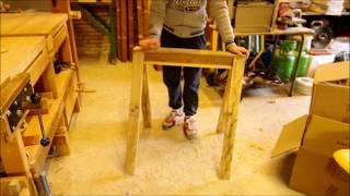 Chevalet fabrication maison imazi - Fabriquer un chevalet pour couper du bois ...