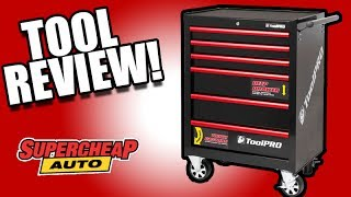 TOOL STORAGE? ToolPro Tool Chest Cabinet - Not a Normal Tool Review