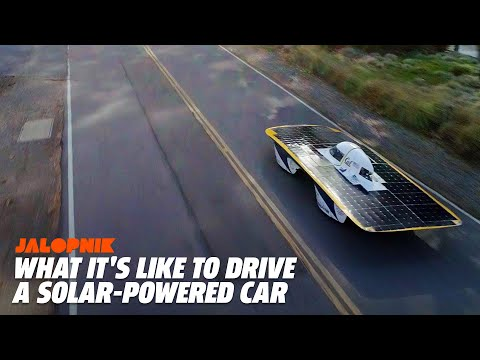 What It's Like To Drive A Solar-Powered Car