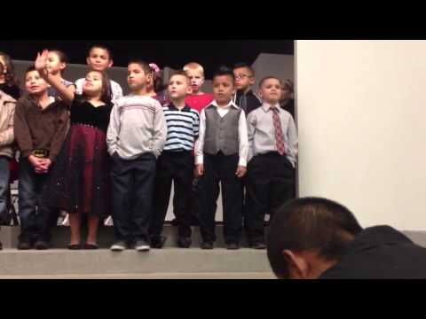Anthony Gonzalez Christmas song