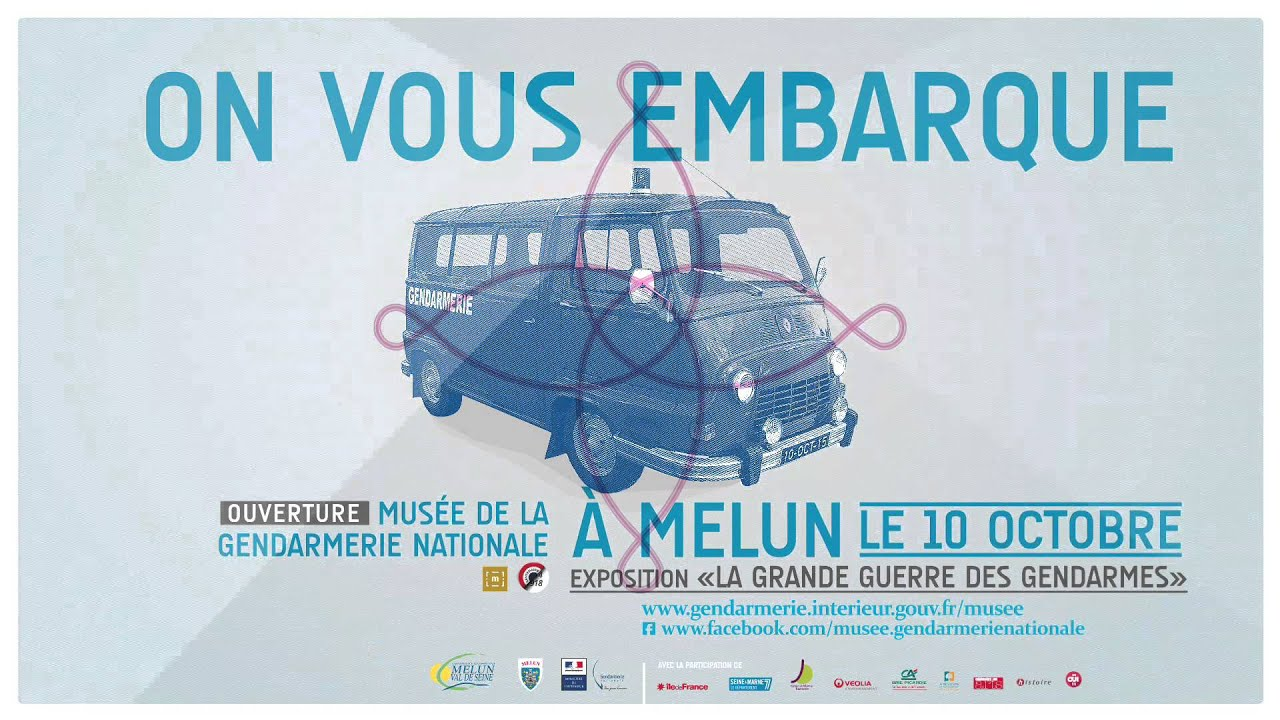 Musee Gendarmerie Nationale - Ouverture - YouTube