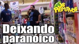 DEIXANDO PARANÓICO (Paranoid prank)