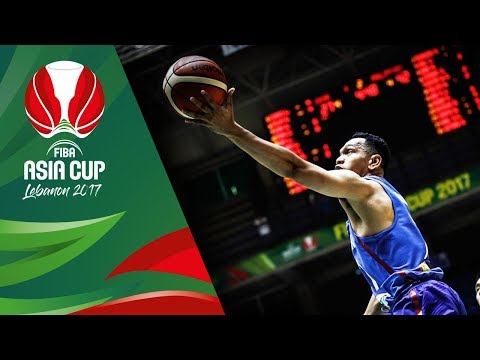 Jayson Castro's Game Highlights vs China (VIDEO) FIBA Asia Cup 2017