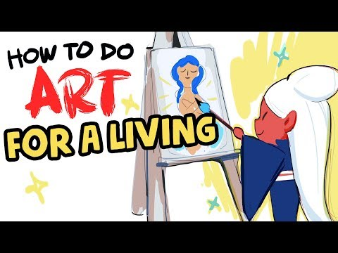 How to do Art for a Living【Animated Story Time】- Ross Draws Master Course Ep. 1 thumbnail