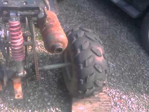 150cc atv keier broke