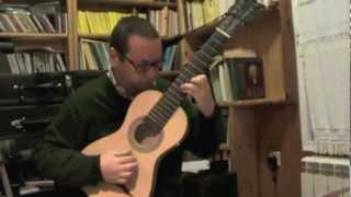 Vargas y Guzmán, Sonata en La (Thomas Schmitt, guitarra de 6 órdenes)