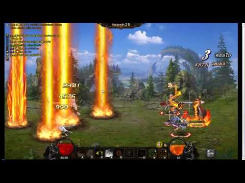 Divosaga thailand (Wartune) server2 Censer vs Insidious (guildwar)