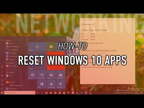 How to reset Windows 10 apps to fix any issues and errors