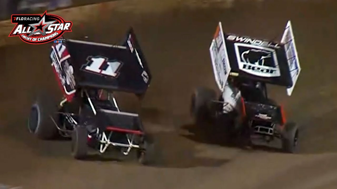 Christopher Bell Goes For Broke at Lake Ozark   FloRacing All Star Sprints Feature