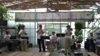 2010年7月31日 ハウスビアガーデン&デキシーランドジャズバンド.