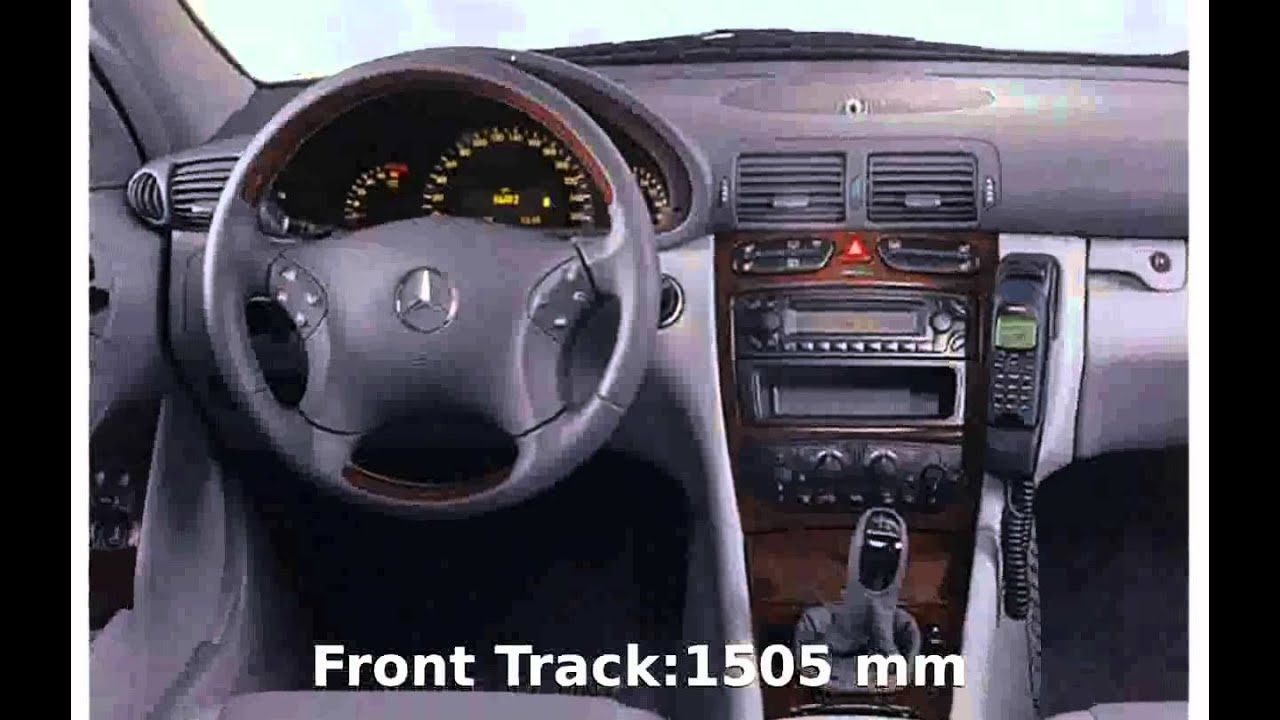 2001 mercedes benz c 220 cdi details info youtube. Black Bedroom Furniture Sets. Home Design Ideas