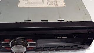 Простой ремонт  китайской  автомагнитолы Lentel - нет звука на всех каналах