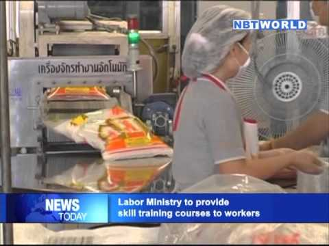 Ministry of Labor to provide skill training courses to workers
