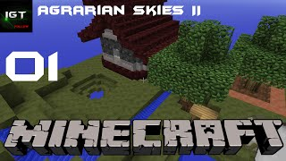 Minecraft LP Agrarian Skies 2 F01 | German | HD |