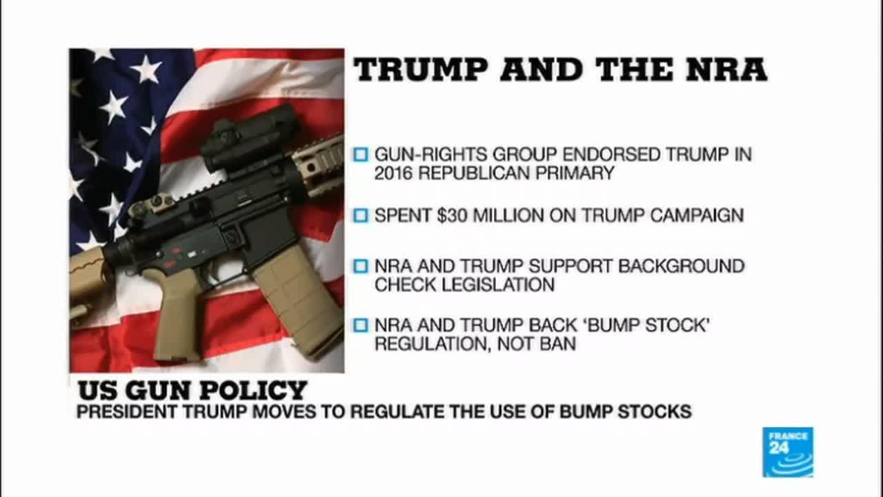 فرانس 24:Florida high school shooting: Donald Trump and the NRA