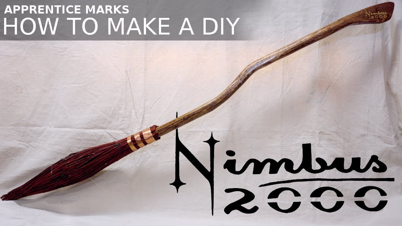 How to Make Harry Potter's Nimbus 2000