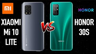Xiaomi Mi 10 lite против Honor 30S