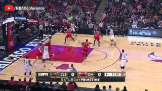 Cleveland Cavaliers vs Chicago Bulls - Full Game Highlights - April 9, 2016 - 2016 NBA Season
