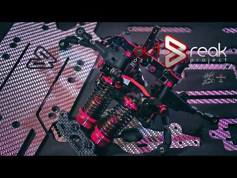 outBreak Drift Project Conversion Kit For 3Racing Sakura D5S & D5 Pro (Assemble VDO)
