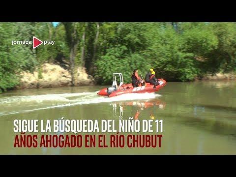 Buscan a un nene ahogado en el Rio Chubut