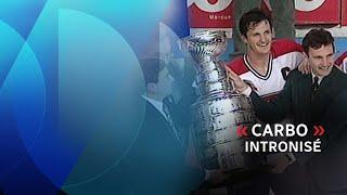 Guy Carbonneau au Temple de la renommée du hockey