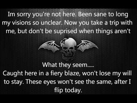 Avenged Sevenfold - Bat Country Lyrics (1080p)